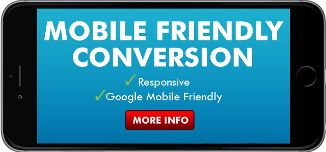 Mobile Friendly Website Conversions