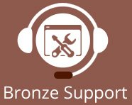 Bronze Website Support
