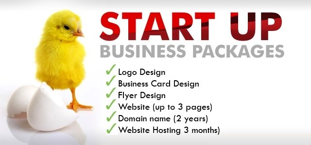 Start Up Website Package