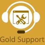 Gold website support