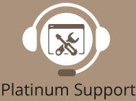 Platinum website support